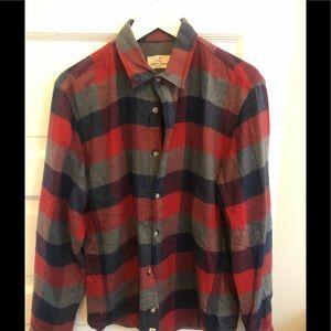 Marine layer men's flannel shirt jacket